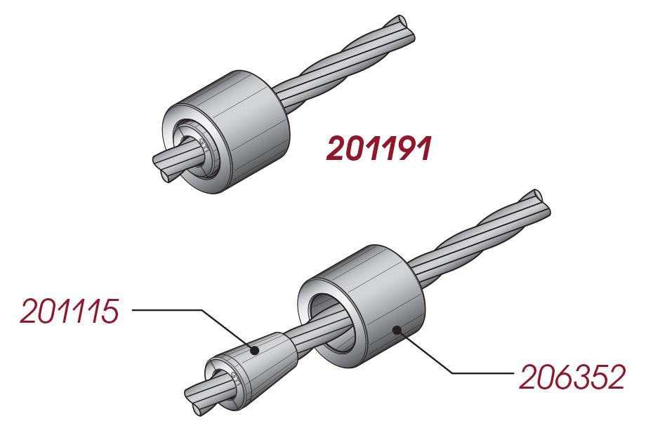 GTI BCS – Bare Barrel Anchors
