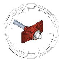 "0.6"" GTI Zero Void® Stressing-End Metal Ring"