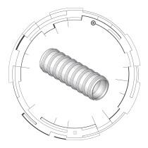 GTI Round Corrugated Plastic Duct