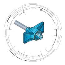"0.6"" GTI Zero Void® Stressing-End Threaded Metal Ring"